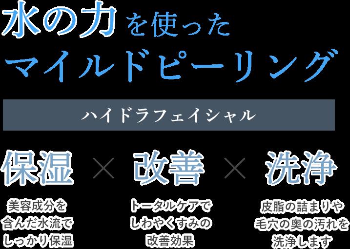 【画像】ハイドラフェイシャル